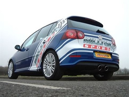 Milltek Cat-back - Non-resonated (louder) for GOLF MK5 R32