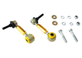 Whiteline Front Sway bar - link kit heavy duty adj steel balls