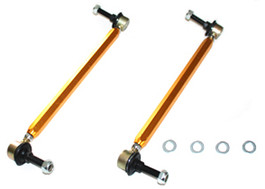 Whiteline Front Sway bar - link kit heavy duty adj steel ball for Mini