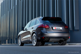 Akrapovic Titanium Downpipe set for Porsche Cayenne Turbo (958)