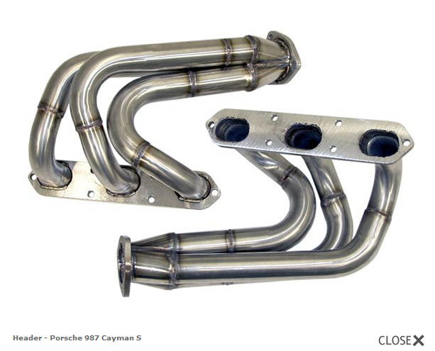Apr Exhaust System For 27l Or 34l H6 Header