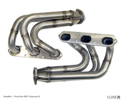APR Exhaust System for 2.7L or 3.4L H6 Header