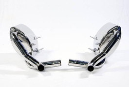 APR Catback Exhaust System with Tips for 3.6L/3.8L H6 997