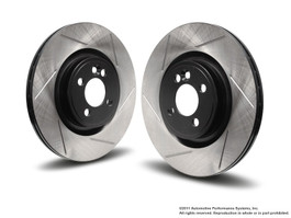 NM Slotted Rear Rotor Set