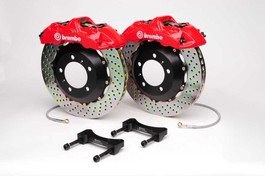 Brembo GT 4 Piston 345 X 27 Big Brake Kit for E46 M3 (Rear)