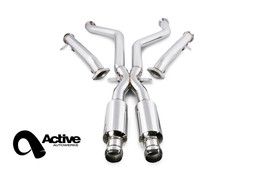 Active Autowerke Signature X Pipe w/ Straight Pipes (Race) for BMW E9X M3