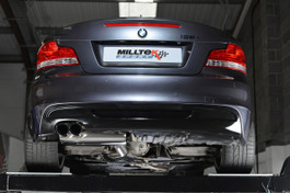 Milltek Sport BMW 135i N54 & N55 Coupe Primary Cat-Back System, Universal Tips (SSXBM945)