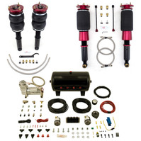 Airlift Manual Combo Kit for 525i, 528i, 530i, 540i, M5 and Touring (Wagon) w/o rear air suspension (77703)