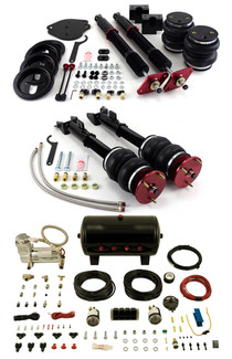 Airlift Manual Combo kit for C5 Platform: A6 Quattro 97-04, S6 Quattro 01-03 , RS6 Quattro 02-04, Allroad Quattro 99-05 (Does not fit models w/ factory air suspension), A6 FWD 97-04 (Front suspension ONLY) (77728)