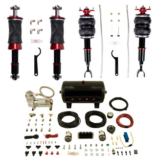 Airlift Manual Combo kit for Audi B5 A4, S4, RS4, VW Passat B5, AWD Only, does not fit FWD models (77755)