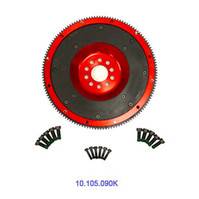 VW Performance Parts, AST, 240mm, Aluminum Flywheel, for 24V, VR6, 02M, 6-spd, L/W, 10-105-090K