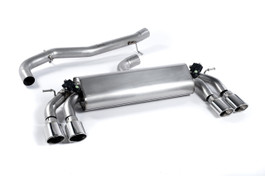 Milltek Sport Valved Cat-Back Exhaust System for VW MK7 Golf R