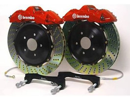 Brembo GT Series Big Brake Kit for B7 A4