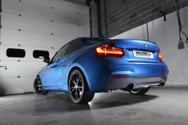 Milltek Sport Street Cat-Back Exhaust System w/ Polished Tips for F22 BMW M235i