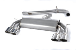 Milltek Sport Non-Valved Race Cat-Back Exhaust System for VW MK7 Golf R
