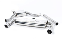 Milltek Sport Cat-Back Exhaust System w/ Rear Silencer (Quieter) & Polished Tips for VW MK7 GTI