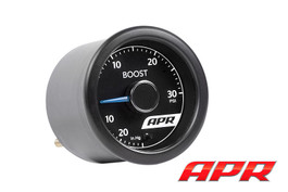 APR 30PSI Universal Boost Gauge Kit w/ White Light & Blue Needle