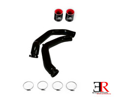 ER Type III Anodize Black Charge Pipes for F80 / F82 / F83 BMW M3 / M4 S55 3.0TT