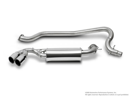NEUSPEED Stainless Steel Cat-back Exhaust for 2008-09 Audi TT MKII 2.0 FWD (30.02.84)