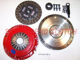 DXD Clutch And Flywheel Kit for VW MK5 / 2005+ Beetle 2.5L I5 (KMK515-HD-O)