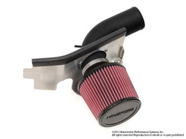 NEUSPEED P-FLO AIR INTAKE FOR 2.0 & 1.8 TSI, CPLA & CPKA w/o Air Pump, Dry Filter Black Pipe (65.10.48D)
