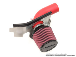 NEUSPEED P-FLO AIR INTAKE FOR 2.0 & 1.8 TSI, CPLA & CPKA w/o Air Pump, Dry Filter Red Pipe (65.10.48RD)