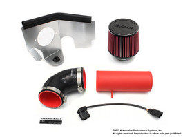 Neuspeed P-FLO Air Intake 2.0L TDI, Dry Filter Red Pipe (65.10.83RD)