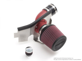 NEUSPEED P-Flo DRY Air Intake Kit for 2008.5-up 2.0L TSI, Red Pipe (65.10.92RD)