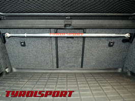 Tyrolsport Carbon Fiber Hatch Brace (Upper Bar Assembly Stage1) for MK5/MK6 VW & Audi A3 8P (TSMSHB-C1)