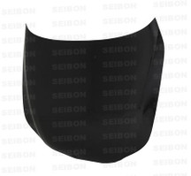 Seibon OEM-style Carbon Fiber Hood for 2004-2010 BMW E60 5 Series (HD0407BMWE60-OE)