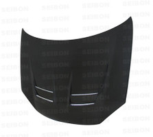 Seibon DV-style carbon fiber hood for 2006-2009 VW Golf GTI (HD0607VWGTI-DV)