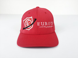 Eurotek Tuning Flex Fit Cap (Red) (CAP-ETEK-04)