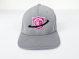 Eurotek Tuning Flex Fit Cap (Grey/Pink Center Logo) (CAP-ETEK-02)