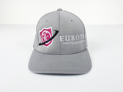 Eurotek Tuning Flex Fit Cap (Grey/Pink) (CAP-ETEK-03)
