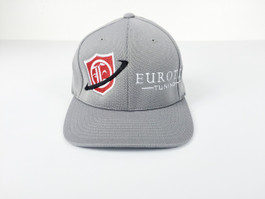 Eurotek Tuning Flex Fit Cap (Grey/Red) (CAP-ETEK-06)