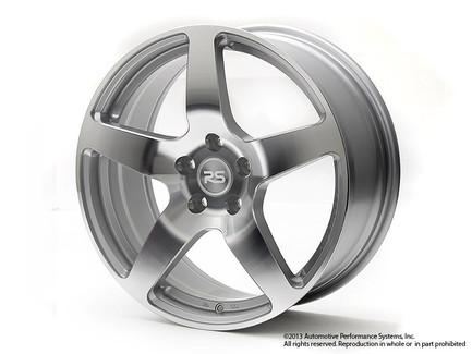 Machined Silver Neuspeed RSe52 18x8 +45 5x112 Light Weight Wheel for VW/Audi (88.52.03S)