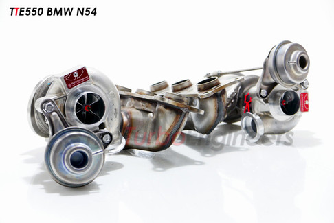 Pictured: TTE550 Turbocharger for BMW N54 (TTE550-N54)
