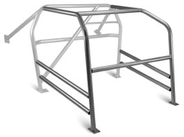 Autopower U-Weld Front Cage Kit for 2008+ Fiat 500 (32661) (Note: Image not vehicle specific. Actual shape will conform to the features of your vehicle.)