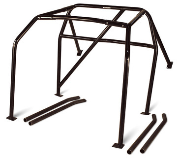 Autopower Bolt-In Roll Cage for 2006-2013 BMW 3-Series Sedan (83907)(Note: Image not vehicle specific. Actual shape will conform to the features of your vehicle.)