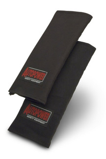 Autopower Harness Pads (Sold as a Pair), Black Only (301001)