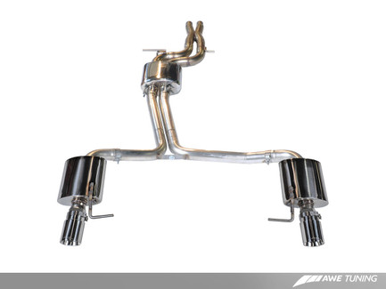 AWE Tuning Touring Edition Exhaust for Audi C7 A7 3.0T