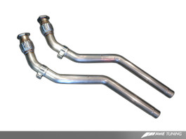 AWE Tuning Resonated Downpipes for Audi S5 4.2L (3215-11044) (non-resonated pipes pictured)