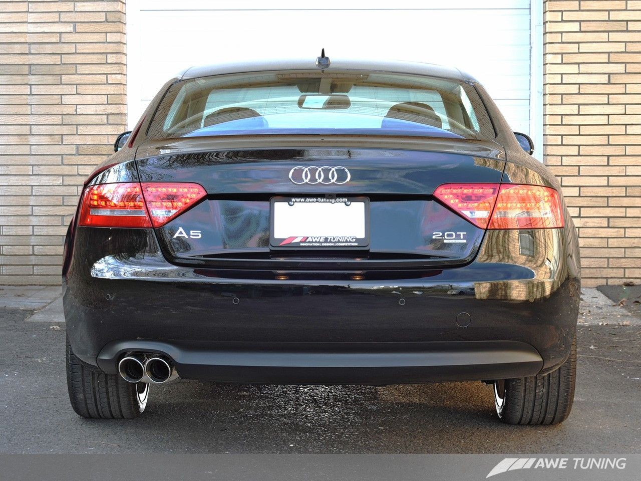 Audi A5 2 0 T >> Awe Tuning A5 2 0t Touring Edition Single Outlet Exhaust For Audi A5