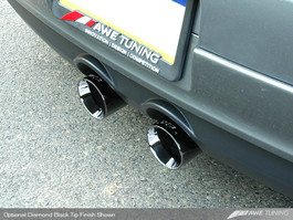 "AWE Tuning Mk5 ""R32 Style"" Performance Exhaust System, Diamond Black Tips for 2006-09 VW GTI"