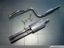 AWE Tuning Cat Back Performance Exhaust - Dual Outlet for Mk4 VW Golf & GTI