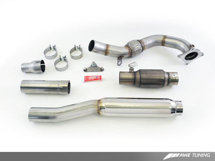 AWE Tuning Performance Downpipe for 2011-13 VW Golf R (3215-11026)