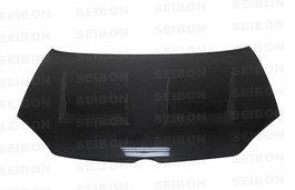 Seibon Carbon Fiber Vented Hood for 06-09 Golf MK5 (shaved Emblem) (HD0607VWGTIB-DV)