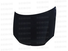 Seibon Carbon Fiber OE Hood for 06-08 Golf MK5 (Shaved emblem)