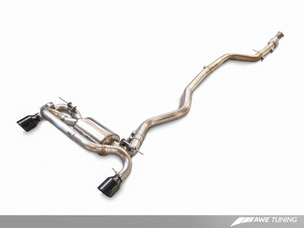 AWE Tuning Performance Mid Pipe for 2014-2016 BMW M235i F22 3.0L Turbo