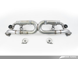 AWE Tuning SwitchPath Exhaust, for  Porsche 991 PSE cars - Chrome Silver Tips